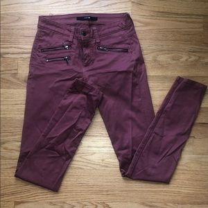 Joes Pants with Zipper Detail